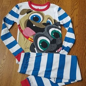 Disney Puppy Dog Pals PJs Sz 10